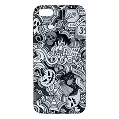 Halloween Pattern Apple Iphone 5 Premium Hardshell Case by ValentinaDesign