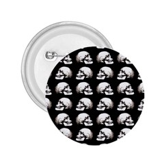 Halloween Skull Pattern 2 25  Buttons by ValentinaDesign