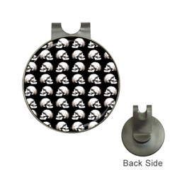 Halloween Skull Pattern Hat Clips With Golf Markers by ValentinaDesign