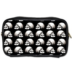 Halloween Skull Pattern Toiletries Bags 2 Side