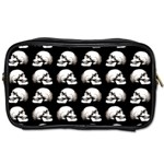 Halloween skull pattern Toiletries Bags 2-Side Front