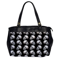 Halloween Skull Pattern Office Handbags by ValentinaDesign