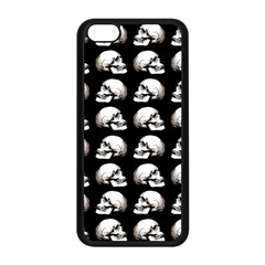Halloween Skull Pattern Apple Iphone 5c Seamless Case (black) by ValentinaDesign