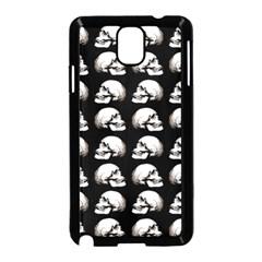 Halloween Skull Pattern Samsung Galaxy Note 3 Neo Hardshell Case (black) by ValentinaDesign