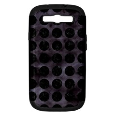 Circles1 Black Marble & Black Watercolor (r) Samsung Galaxy S Iii Hardshell Case (pc+silicone) by trendistuff