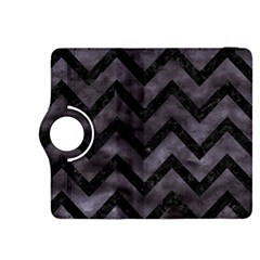 Chevron9 Black Marble & Black Watercolor (r) Kindle Fire Hdx 8 9  Flip 360 Case by trendistuff