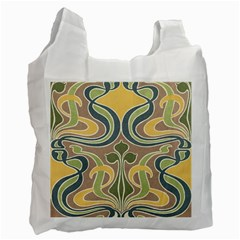 Art Nouveau Recycle Bag (one Side) by 8fugoso