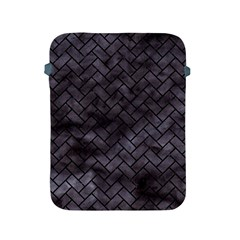 Brick2 Black Marble & Black Watercolor (r) Apple Ipad 2/3/4 Protective Soft Cases by trendistuff