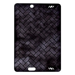 Brick2 Black Marble & Black Watercolor (r) Amazon Kindle Fire Hd (2013) Hardshell Case by trendistuff