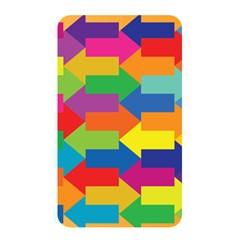 Arrow Rainbow Orange Blue Yellow Red Purple Green Memory Card Reader by Mariart