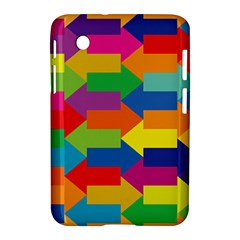 Arrow Rainbow Orange Blue Yellow Red Purple Green Samsung Galaxy Tab 2 (7 ) P3100 Hardshell Case  by Mariart