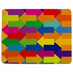 Arrow Rainbow Orange Blue Yellow Red Purple Green Jigsaw Puzzle Photo Stand (rectangular) by Mariart