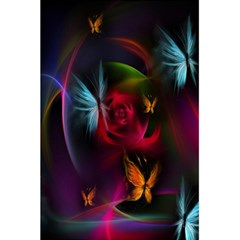 Beautiful Butterflies Rainbow Space 5 5  X 8 5  Notebooks by Mariart