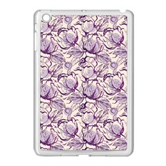 Vegetable Cabbage Purple Flower Apple Ipad Mini Case (white) by Mariart