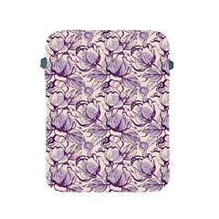 Vegetable Cabbage Purple Flower Apple Ipad 2/3/4 Protective Soft Cases by Mariart