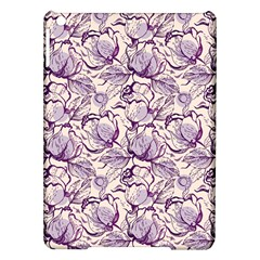 Vegetable Cabbage Purple Flower Ipad Air Hardshell Cases by Mariart