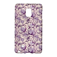Vegetable Cabbage Purple Flower Galaxy Note Edge by Mariart