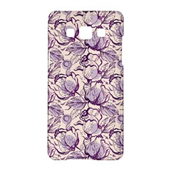 Vegetable Cabbage Purple Flower Samsung Galaxy A5 Hardshell Case  by Mariart