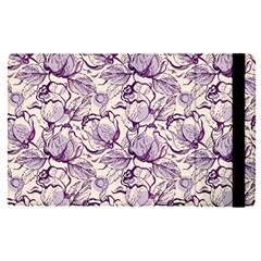 Vegetable Cabbage Purple Flower Apple Ipad Pro 12 9   Flip Case by Mariart