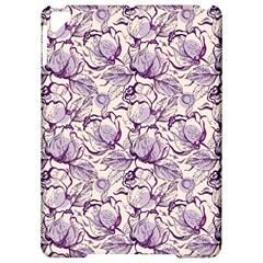 Vegetable Cabbage Purple Flower Apple Ipad Pro 9 7   Hardshell Case by Mariart