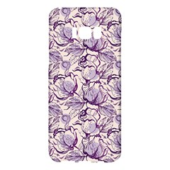 Vegetable Cabbage Purple Flower Samsung Galaxy S8 Plus Hardshell Case  by Mariart