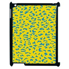 Blue Yellow Space Galaxy Apple Ipad 2 Case (black) by Mariart