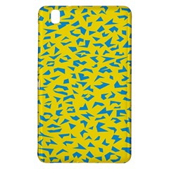 Blue Yellow Space Galaxy Samsung Galaxy Tab Pro 8 4 Hardshell Case by Mariart