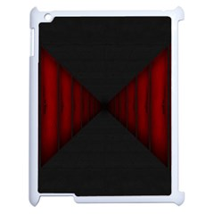 Black Red Door Apple Ipad 2 Case (white) by Mariart