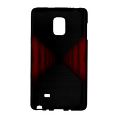 Black Red Door Galaxy Note Edge by Mariart