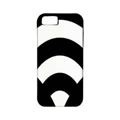 Circle White Black Apple Iphone 5 Classic Hardshell Case (pc+silicone) by Mariart