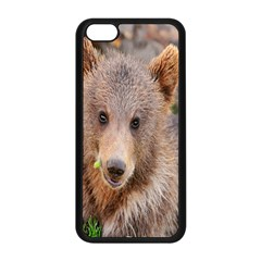 Baby Bear Animals Apple Iphone 5c Seamless Case (black) by Mariart