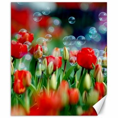 Colorful Flowers Canvas 20  X 24   by Mariart