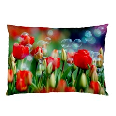 Colorful Flowers Pillow Case by Mariart