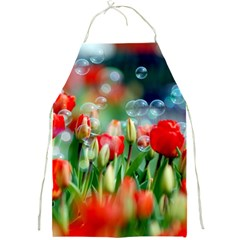 Colorful Flowers Full Print Aprons by Mariart