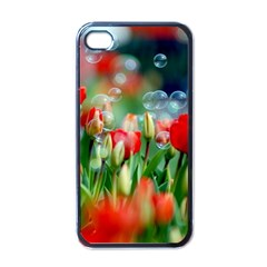 Colorful Flowers Apple Iphone 4 Case (black) by Mariart