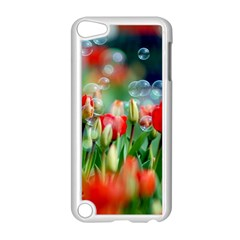 Colorful Flowers Apple Ipod Touch 5 Case (white) by Mariart