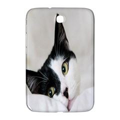 Cat Face Cute Black White Animals Samsung Galaxy Note 8 0 N5100 Hardshell Case  by Mariart