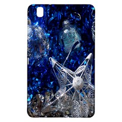 Christmas Silver Blue Star Ball Happy Kids Samsung Galaxy Tab Pro 8 4 Hardshell Case by Mariart