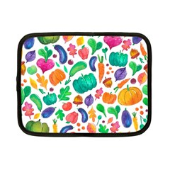 Pattern Autumn White Netbook Case (small)  by Mishacat