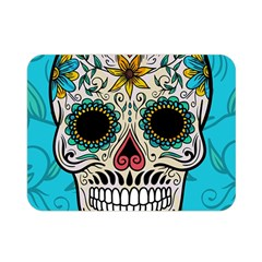 Sugar Skull New 2015 Double Sided Flano Blanket (mini)  by crcustomgifts