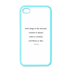 Inspirational Quote (arthur Young) Apple Iphone 4 Case (color) by DeneWestUK