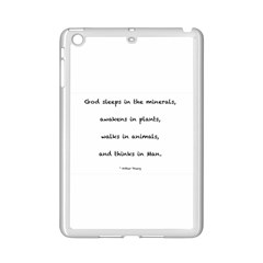 Inspirational Quote (arthur Young) Ipad Mini 2 Enamel Coated Cases by DeneWestUK