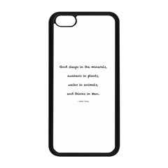 Inspirational Quote (arthur Young) Apple Iphone 5c Seamless Case (black) by DeneWestUK
