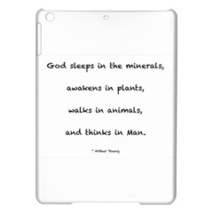 Inspirational Quote (arthur Young) Ipad Air Hardshell Cases by DeneWestUK
