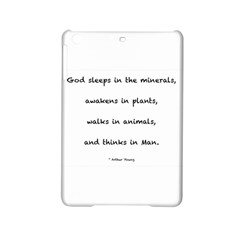 Inspirational Quote (arthur Young) Ipad Mini 2 Hardshell Cases by DeneWestUK