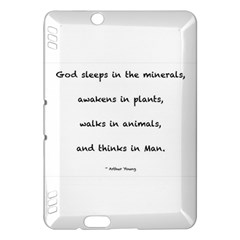 Inspirational Quote (arthur Young) Kindle Fire Hdx Hardshell Case by DeneWestUK