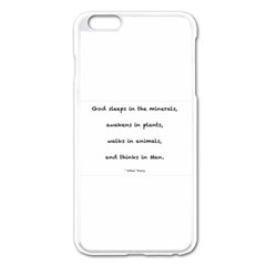 Inspirational Quote (arthur Young) Apple Iphone 6 Plus/6s Plus Enamel White Case by DeneWestUK