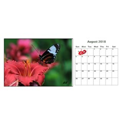 Donbrad3 By Nancy White   Desktop Calendar 11  X 5    24otk4k3nalt   Www Artscow Com Aug 2018