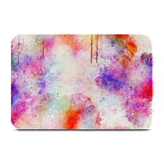 Watercolor Galaxy Purple Pattern Plate Mats by paulaoliveiradesign