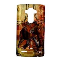 Steampunk, Steampunk Elephant With Clocks And Gears Lg G4 Hardshell Case by FantasyWorld7